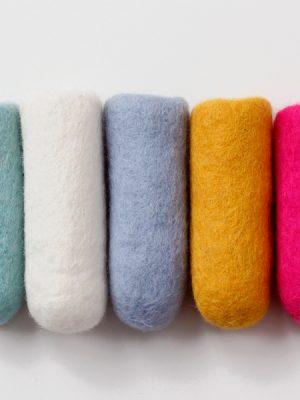 Wool cotton goods