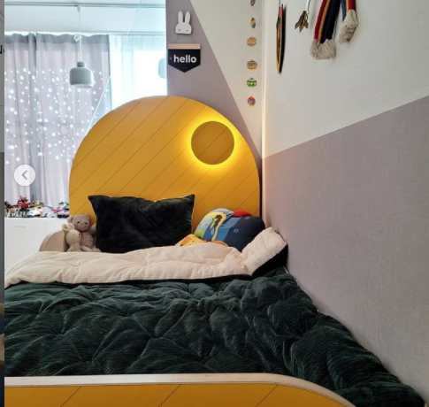 Chamel bed _ yellow